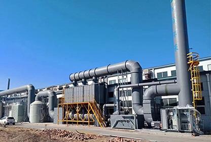 活性炭吸附浓缩RCO催化燃烧能量回收