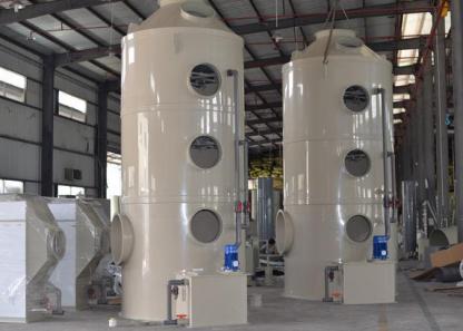喷淋塔在废气处理领域的应用